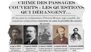 Teambuilding paris Passages couvertscoupure de presse sur le crime des passages couverts