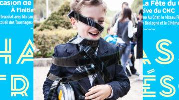 chasse au trésor pour le CNC avec enfant déguisé