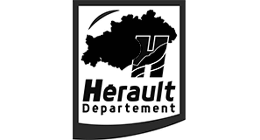logo département Hérault NB
